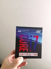 BNIB INTEL CORE I7-8086K PROCESSOR - 8TH GEN   Toronto, M5B