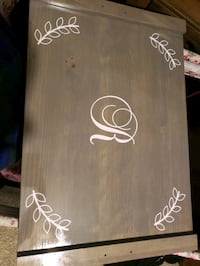 Stove top cover can do any letter . Made to order  Lascassas, 37085