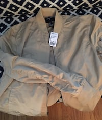 Men's Gold slim spring Jacket Vancouver, V6P