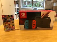 Nintendo Switch (Red/Blue) + Mario Kart 8 Barcelona, 08023