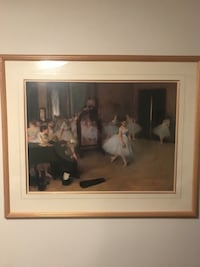 """Degas """"The Dancing Class"""" Picture Toronto, M3H 4A1"""