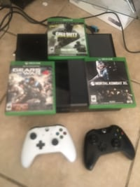 Xbox one with games and Connet Phoenix, 85031