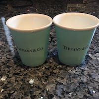 Authentic Tiffany Bone China Cups