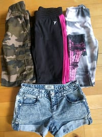 Girl pants and short. All for 10$ Toronto, M2N 0A5