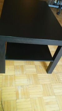 table de salon ikea noir