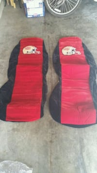SF49ers car seat covers - $55 Milpitas, 95035