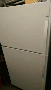 white top-mount refrigerator Laval