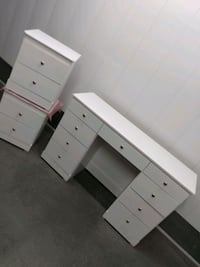 Vanity Bedroom Dresser Set Santa Ana