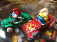 Collectible 1982 Papa Smurf Smurfette die cast cars $5 each New Westminster, V3M 3P1