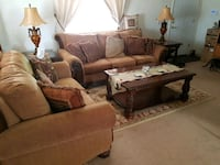 brown and white living room set Golden Valley, 86413