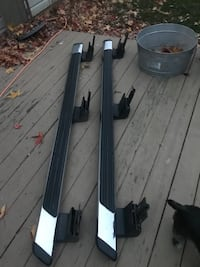 Running boards, headlights, taillights and mirrors for a 99-07 f250/350