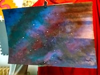 Large Acrylic Painting - Galaxy Interesting Piece Vancouver, V6B