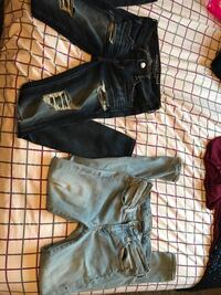 Both a size 4 from American Eagle!! $30 each but we could negotiate! One on the left has only been worn once!  Rochester