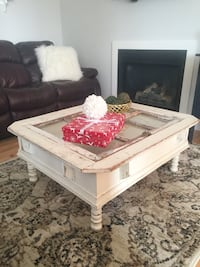 Shabby chic large coffee table