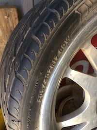 Car tires with rims Greenfield, 93927