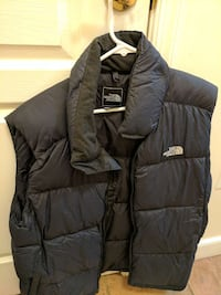 black the north face bubble vest mens large Washington, 20004