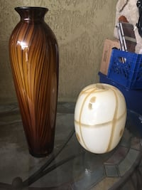 Two vases glass decoration  Santee, 92071