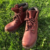 Timberland leather winter boots size 7 536 km
