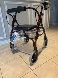 Wheelchair /Walker - Medical with brakes & wheels Laval, H7K 3S8