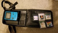 Gameboy Color 5 games carry case Nicholasville, 40356