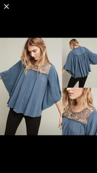Anthropologie Top  Nokomis, 34275