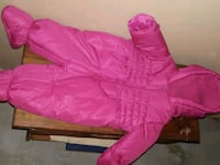 Pink baby snowsuit Winnipeg, R3T 2H5
