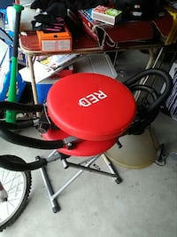 red and black Red gym equipment Apopka
