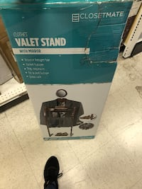 Closetmate Clothes Valet Stand with Mirror San Leandro
