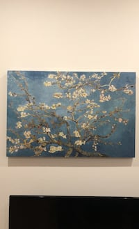 Almond Blossom, by Van Gogh print on wrapped canvas