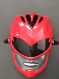 Red and black mask with. Sounds Santa Ana, 92705