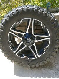 35 inch trail blade tires  20 inch mayhem patriot wheels/rims West Kelowna, V1Z 3X6