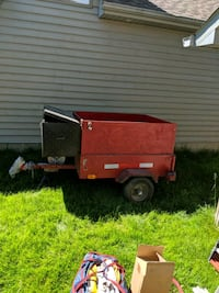 4*4 Trailer with box and Lid Toronto, M9C