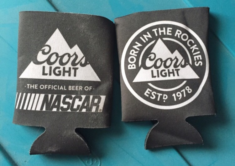 2 coors light cozies