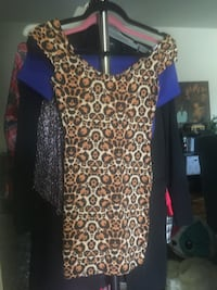 Cheetah print bodycon dress  Greenbelt, 20770