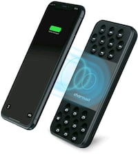 Wireless Portable Charger, Qi Fast Charge w/Suction Cup NEW 1/2 PRICE
