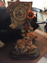 Hand painted, ceramic collectable clock  Whitby, L1N 9N7
