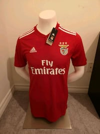 Brand new in tags Benfica 2019 Jersey! Mississauga, L5B 3M8