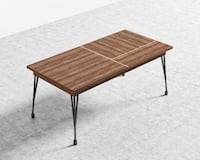 *BRAND NEW* Expendable Walnut Veneer Bennett Dining Table Top Washington