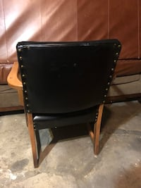 Vintage Genuine Leather Chair  Chicago