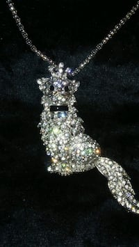 Crystal cat necklace Spring Hill, 34608