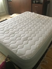 White and gray bed mattress (new)electric  Montréal, H4R 1M9