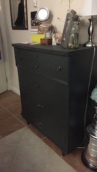 Solid wood refinished dresser  Langford, V9B 6A9