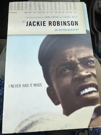 Jackie Robinson:an autobiography book Vienna, 22180