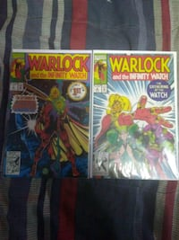 (RARE, MINT CONDITION) Warlock 1+2