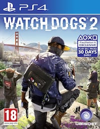 Watch Dogs 2 and Watch Dogs 1 for PS4 3779 km