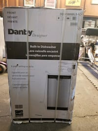 Danby Compact Stainless Steel Dishwasher