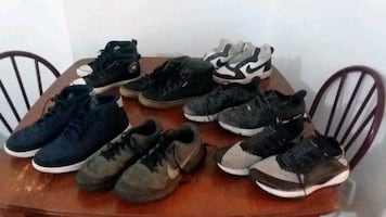 All name brand men shoes size 5 and 51/2