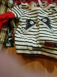 17 Piece Lot of Baby Boys Clothing Size 3 to 6 Mo 2159 mi