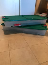 Holiday Storage Boxes (2 total)   Arlington, 22203