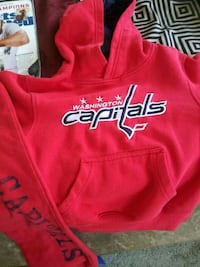 Capital's Stanley Cup sweats set (5t) Washington, 20020